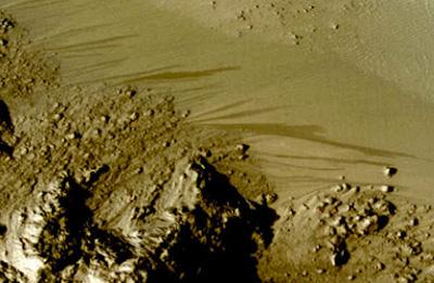 Mars Wasser