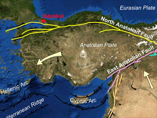istanbul-tektonische-verwerfung
