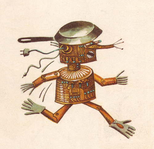roboter-karikatur