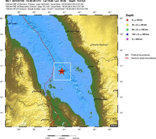 erdbeben-rotes-meer