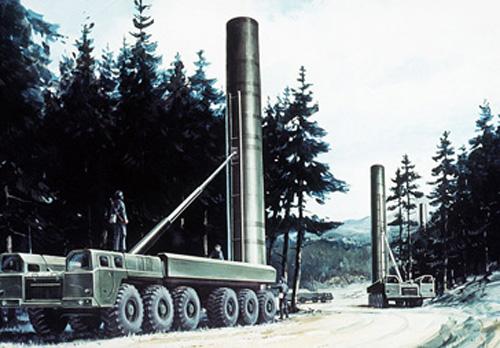 SS-20Startrampe
