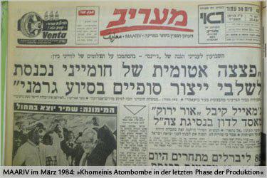 maariv-israel-presse-iran-atomwaffen-1984