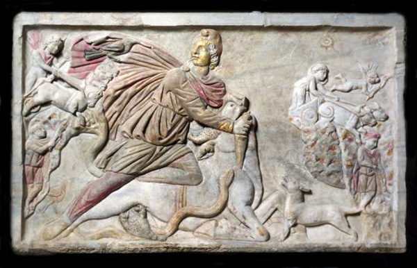mithras-relief
