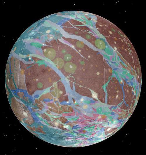 jupitermond-Ganymed