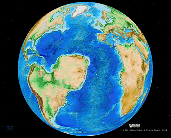 sahara-atlantik-topographie