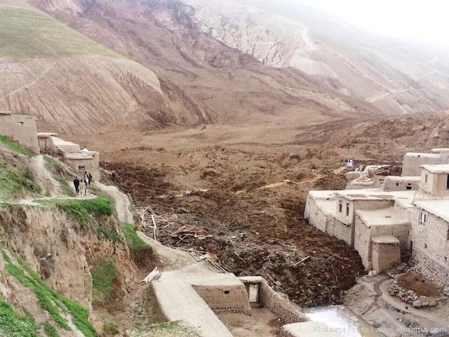 Badakhshan-erdrutsch-regen