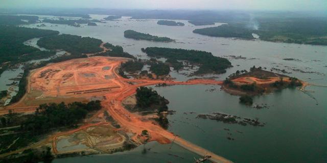 Brasilien Staudamm