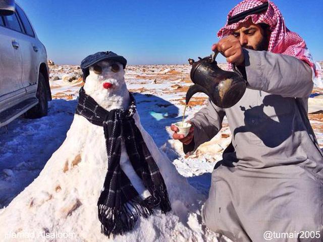 schneemann-saudi-arabien