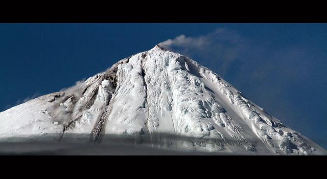 Vulkan In Der Antarktis