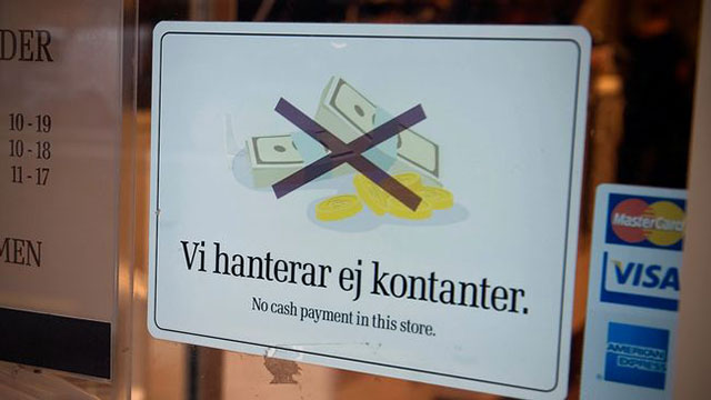 Schweden Bargeldlos