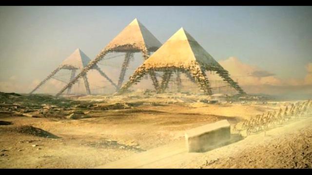 Der Bau Der Pyramiden