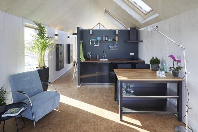 Alternatives Wohnen Autarkes Mini Haus Basierend Auf Open