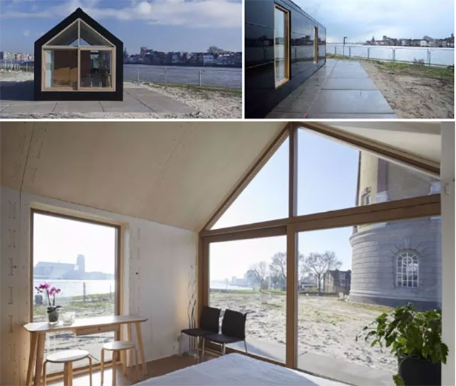 Alternatives Wohnen Autarkes Mini Haus Basierend Auf Open Source