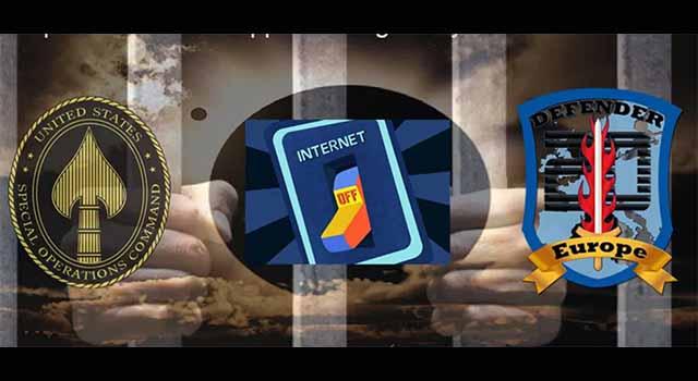 Werden die Massenverhaftungen des Tiefen Staates während der dreitägigen Internet-Abschaltung stattfinden? (Video)