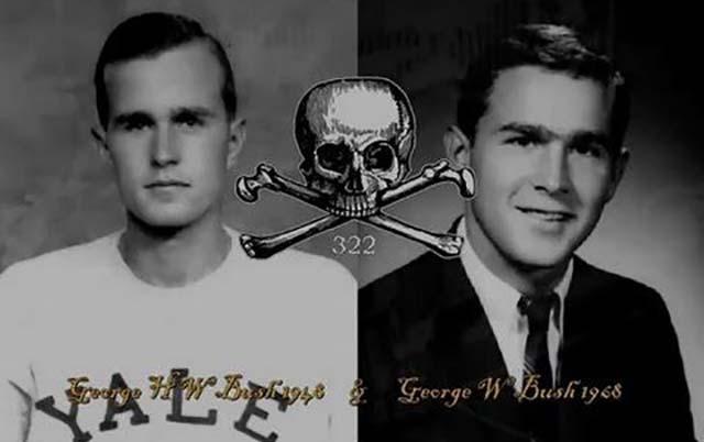 """Geheimbund Skull & Bones: """"Die Bushs & das Geheimnis von Zimmer 322"""""""